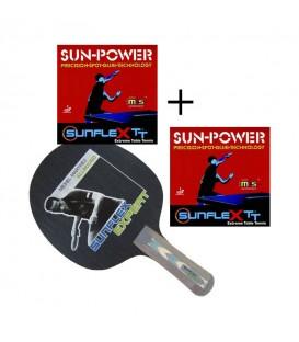 raquette All expert + Sun power