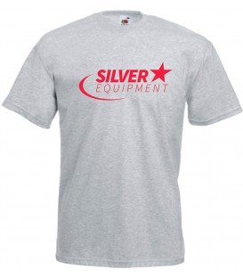 Tee-shirt Silver Coton