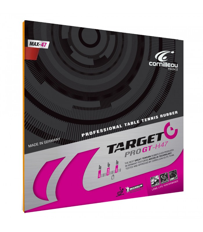 Cornilleau target pro gt h47 revetement tennis de table - Revetement de raquette de tennis de table ...