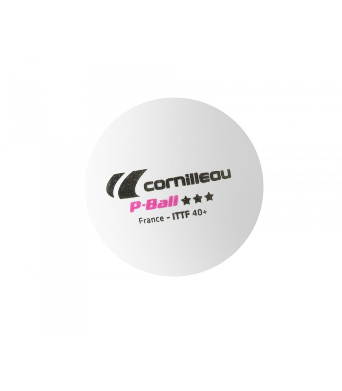 3 cornilleau plastique ball ittf balles tennis de table - Balle plastique tennis de table ...