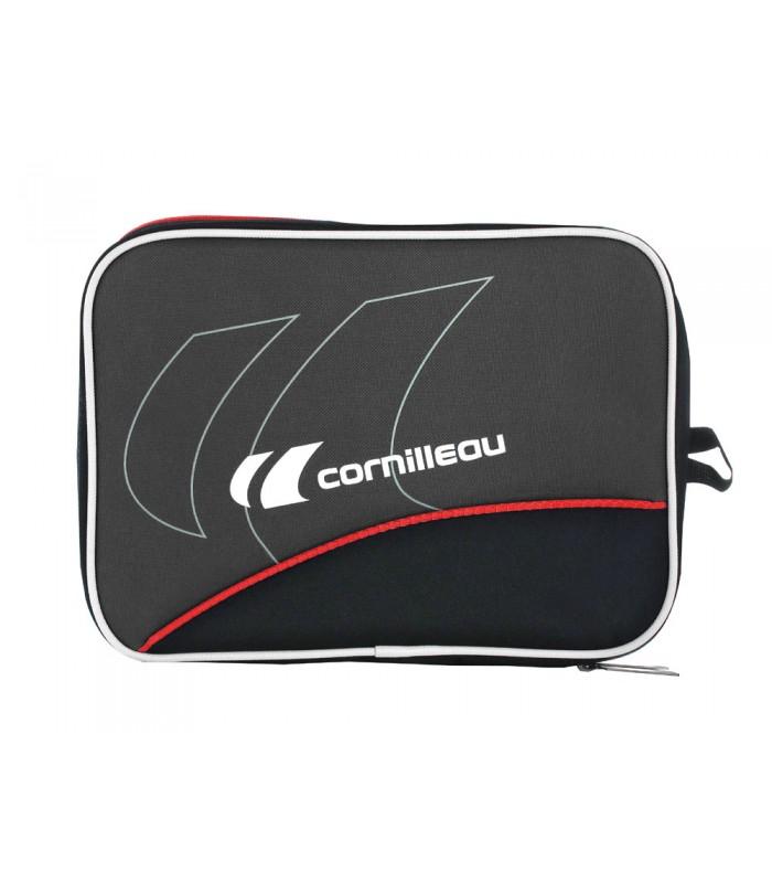 Cornilleau fitcare housse double silver equipment for Housse de raquette