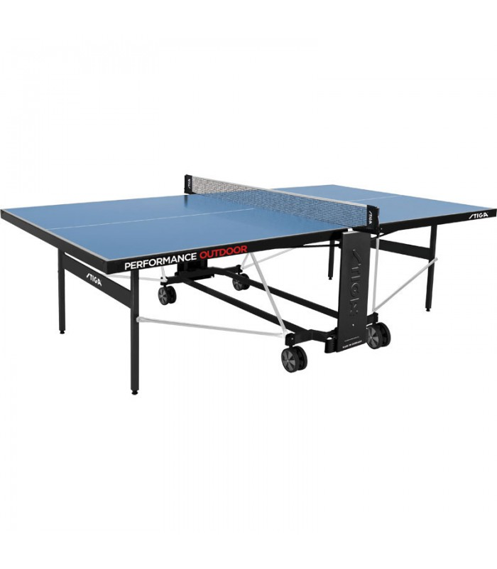 Stiga performace outdoor cs table de ping pong silver - Table de ping pong exterieur en solde ...
