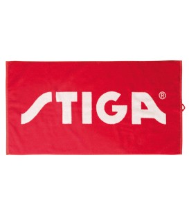 STIGA ACTIVITY ROUGE SERVIETTE TENNIS DE TABLE