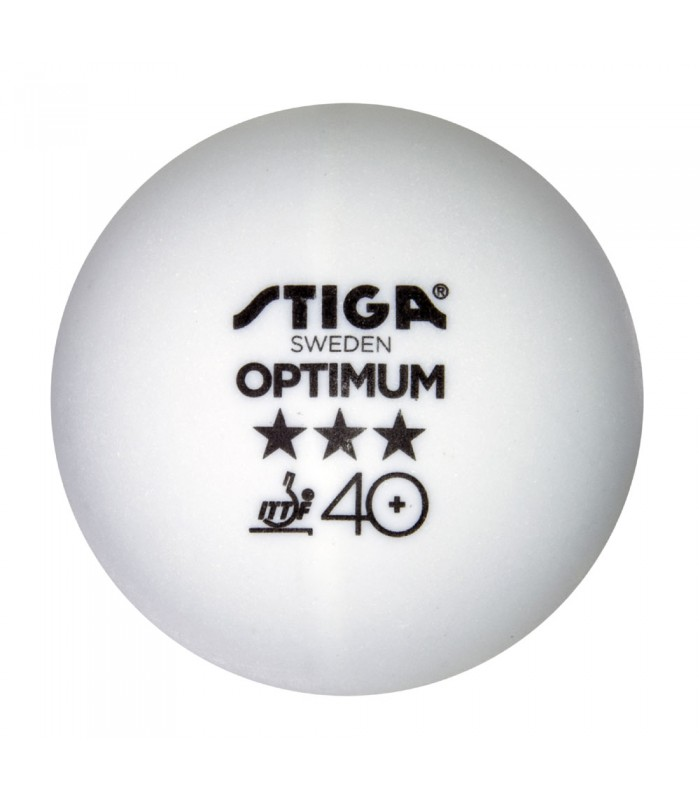 100 stiga optimum plastique 40 balles tennis de table - Balle plastique tennis de table ...