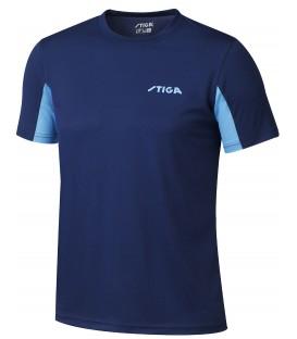 STIGA ATLANTIS MARINE - Tee-shirt Tennis de Table