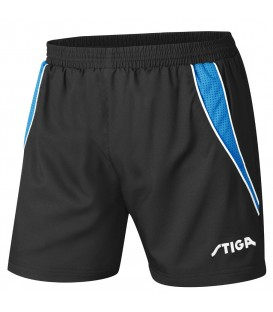 STIGA COLUMBIA NOIR - SHORT TENNIS DE TABLE