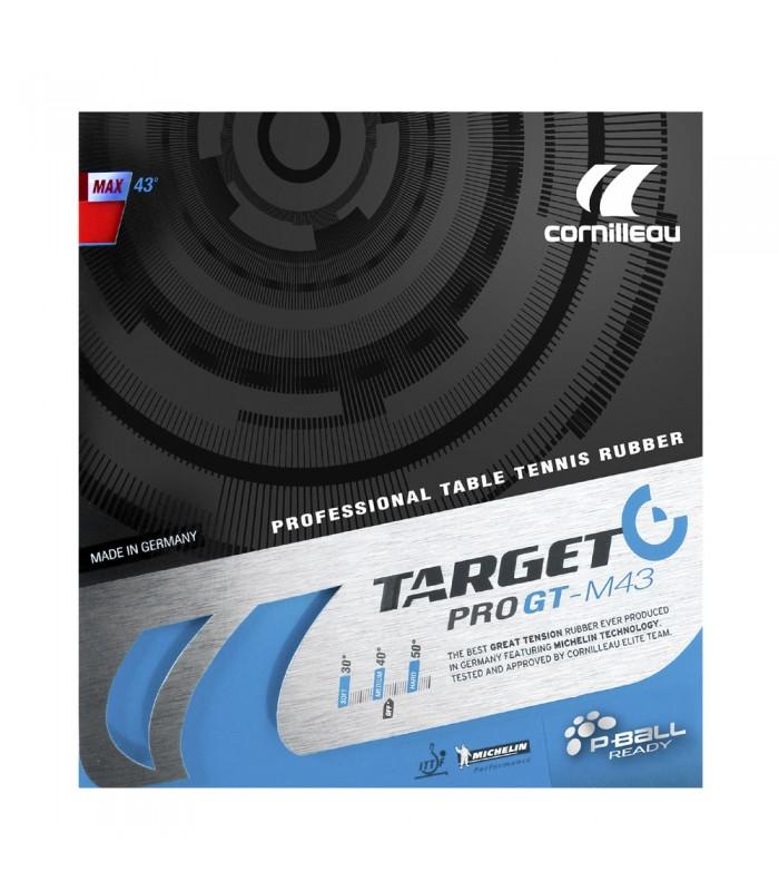 Cornilleau target pro gt m43 revetement tennis de table silver equipment - Revetement de tennis de table ...