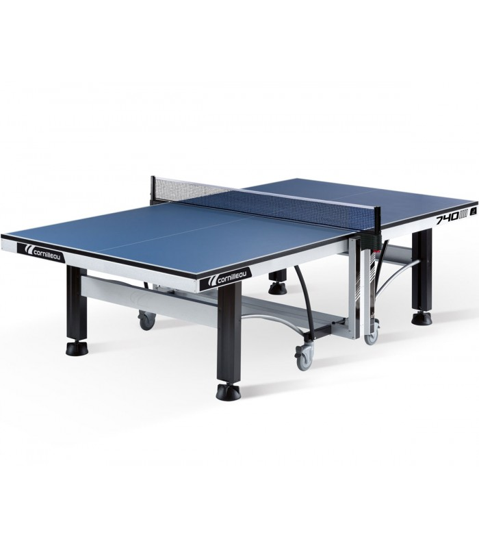 cornilleau competition 740 ittf bleu table tennis de table silver equipment. Black Bedroom Furniture Sets. Home Design Ideas