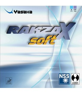 YASAKA RAKZA X SOFT - REVETEMENT TENNIS DE TABLE