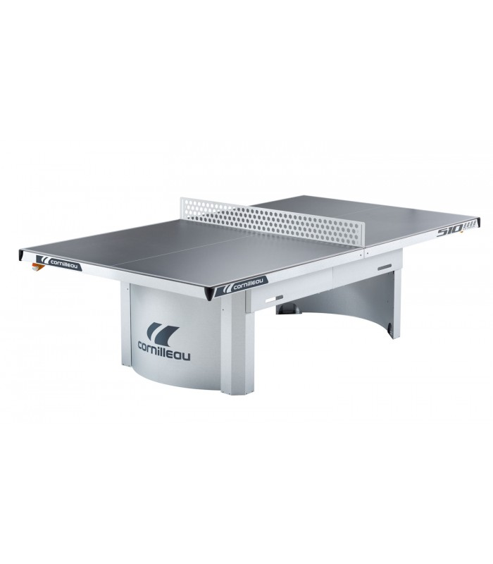 Cornilleau 510 m outdoor grise table ping pong exterieur for Table exterieur grise