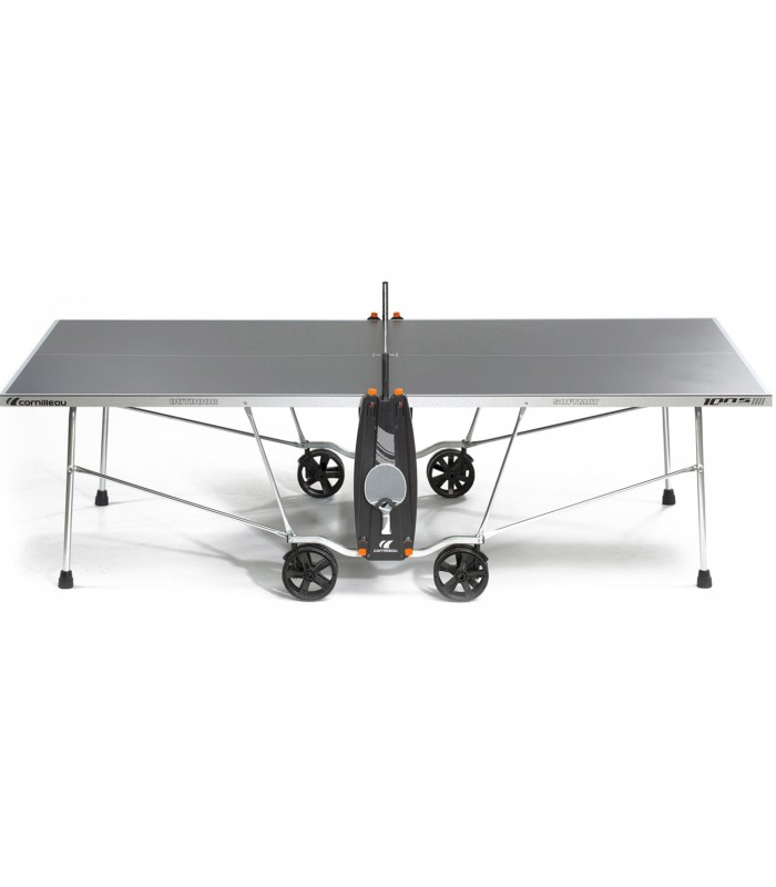 Cornilleau 100 s crossover outdoor grise table tennis de for Table de tennis de table exterieur