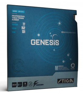 REVETEMENT DE TENNIS DE TABLE STIGA GENESIS M
