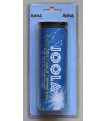 Balles de ping pong pour exterieur joola silver equipment for Ping pong exterieur