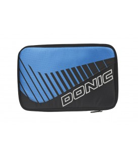 HOUSSE DE RAQUETTE DE TENNIS DE TABLE DONIC CLICK BLEU