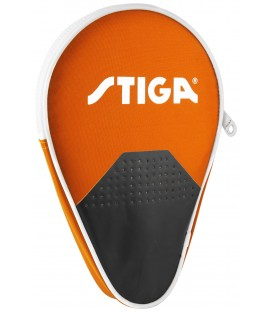 HOUSSE DE RAQUETTE DE PING PONG STIGA STAGE ORANGE