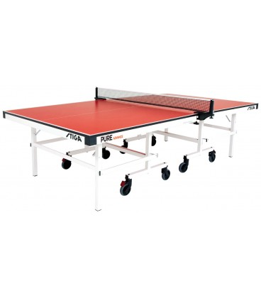 TABLE DE PING PONG STIGA PURE ADVANCE ROUGE