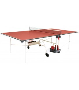 TABLE DE PING PONG STIGA PURE ROLLER ROUGE