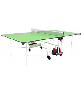 TABLE DE PING PONG STIGA PURE ROLLER VERTE