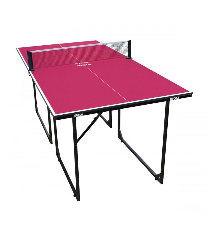 joola midsize table tennis table mini table de ping pong joola midsize rose silver equipment. Black Bedroom Furniture Sets. Home Design Ideas