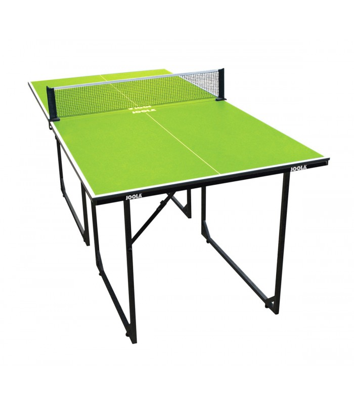 mini table de ping pong joola midsize verte silver equipment. Black Bedroom Furniture Sets. Home Design Ideas