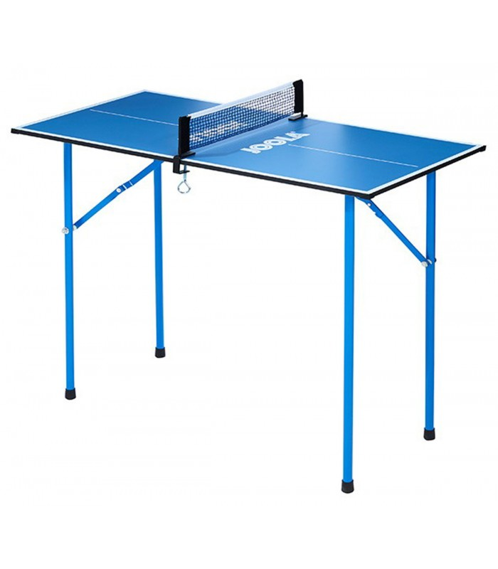 mini table de ping pong joola bleu silver equipment. Black Bedroom Furniture Sets. Home Design Ideas