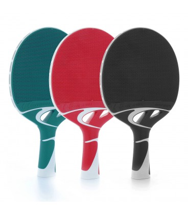 Lot de 10 raquettes de ping pong cornilleau tacteo - Revetement de raquette de tennis de table ...