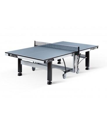 TABLE DE TENNIS DE TABLE CORNILLEAU COMPETITION 740 ITTF GRISE