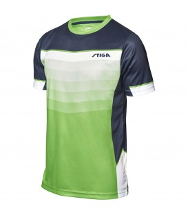 TEE-SHIRT DE TENNIS DE TABLE STIGA RIVER VERT