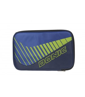 HOUSSE DE RAQUETTE DE TENNIS DE TABLE DONIC CLICK MARINE