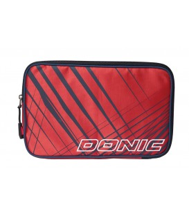 HOUSSE DE RAQUETTE DE TENNIS DE TABLE DONIC SCUDO ROUGE