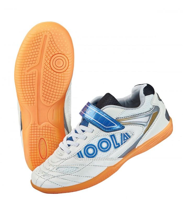 Chaussure de tennis de table joola pro junior 17 silver equipment - Chaussure de tennis de table ...