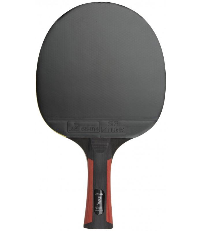 raquette de ping pong stiga 3 etoiles set boom orange