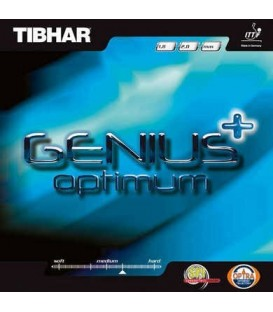TIBHAR GENIUS + OPTIMUM - REVETEMENT TENNIS DE TABLE