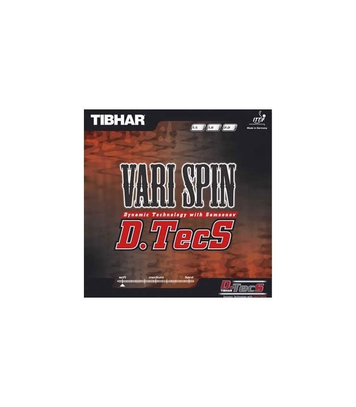 Tibhar vary spin dtecs revetement tennis de table silver equipment - Revetement de tennis de table ...