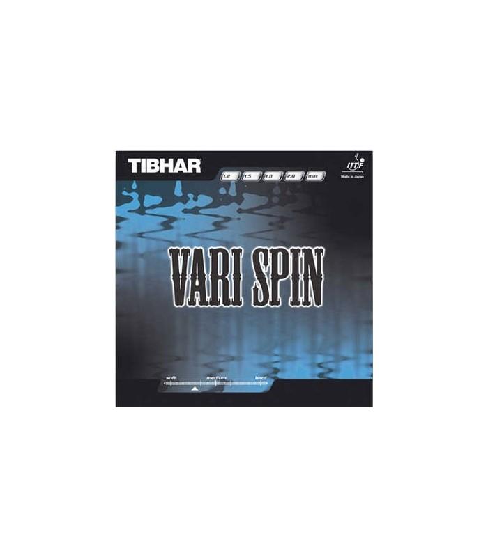 Tibhar vary spin revetement tennis de table silver equipment - Revetement de tennis de table ...