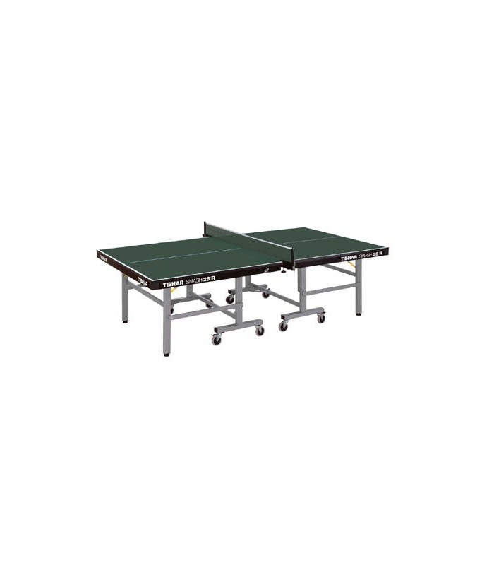 tibhar smash 28 rolloway table tennis de table silver equipment. Black Bedroom Furniture Sets. Home Design Ideas