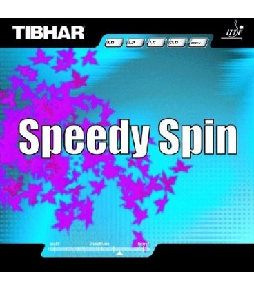 TIBHAR SPEEDY SPIN - REVETEMENT TENNIS DE TABLE