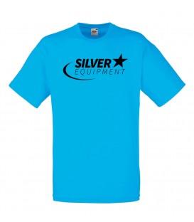 Tee-shirt Silver Coton Bleu