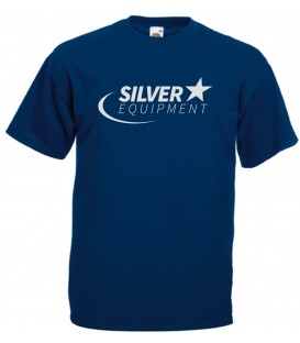 Tee-shirt Silver Coton Marine