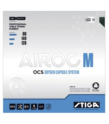 STIGA AIROC M - REVETEMENT TENNIS DE TABLE