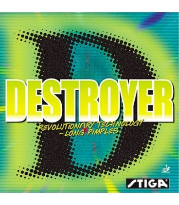 STIGA DESTROYER - REVETEMENT TENNIS DE TABLE