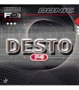 REVETEMENT DE TENNIS DE TABLE DONIC DESTO F4