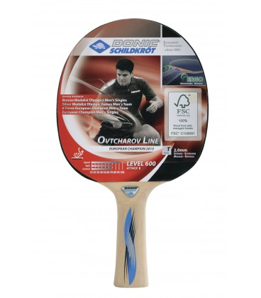 RAQUETTE DE PING PONG DONIC OVTCHAROV 600