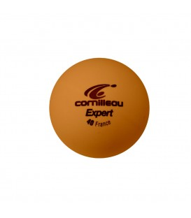 6 BALLES TENNIS DE TABLE CORNILLEAU EXPERT ORANGES