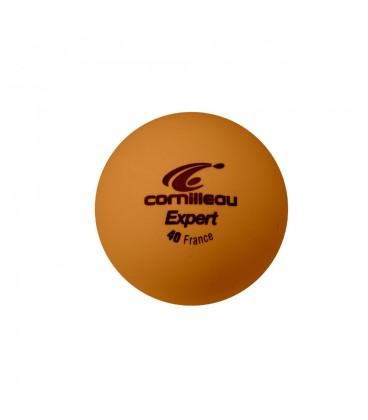 6 BALLES TENNIS DE TABLE CORNILLEAU EXPERT ORANGES