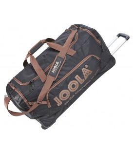 SAC DE TENNIS DE TABLE JOOLA ROLLBAG NOIR ET BRUN