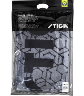 SERVIETTE DE TENNIS DE TABLE STIGA HEXAGON MEDIUM