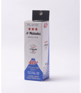 BALLES DE TENNIS DE TABLE NITTAKU 40+ NSD