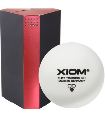 120 BALLES DE TENNIS DE TABLE XIOM ELITE TRAINING