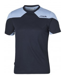 TEE-SHIRT DE TENNIS DE TABLE STIGA NOVA BLEU